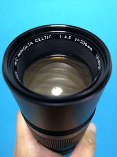 Minolta MD Celtic 200mm F4.5