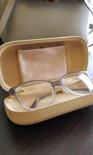 Chloe Twist Grey Glasses