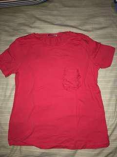 baju merah zara
