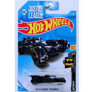 Hotwheels 2018 Batman Series Justice League Batmobile DC 2nd Release Midnight Blue Rare