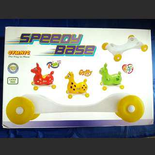 全新Rody跳跳馬轆底座板 New Rare Speedy Rody Base Made In Italy Official Genuine Item 意大利製