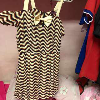 cute dress with ribbon