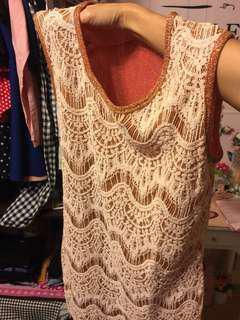 🚚 蕾𢇁金葱洋裝