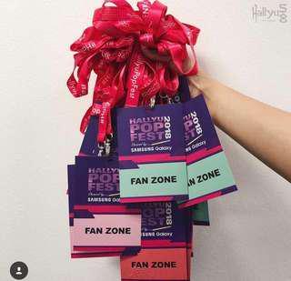 HallyuPopFest fanzone pass day 2