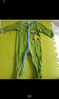 🚚 Next baby長袖包腳連身衣兩件組