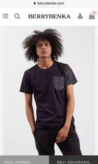 BLACK ABSTRACT TSHIRT | KAOS