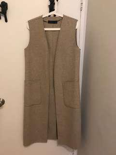 Wool vest from Zara - only worn a few times - size small