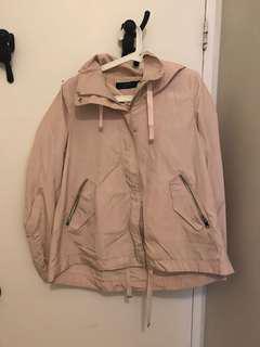 Zara rain jacket - size small