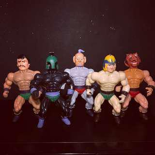 Vtg 80s Galaxy Fighters Motu KO