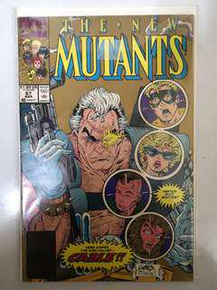 MARVEL COMICS THE NEW MUTANTS #87