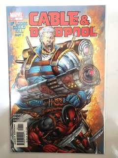 MARVEL COMICS CABLE & DEADPOOL #1