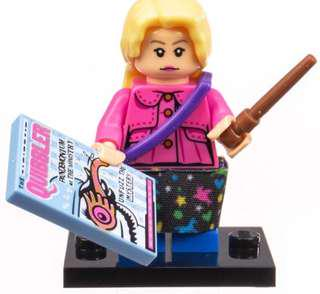 Lego Harry Potter Luna Lovegood Minifigure / Minifigurine