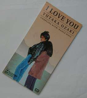 (經典) 日版 尾崎豐 I Love You 3吋 8cm 單曲CD