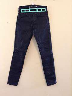Guess Faux Leather Jeans