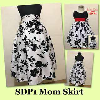 SPECIAL DRESS SDP AND MOM SKIRT