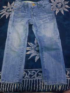 Celana jeans anak mother care