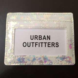 Urban Outfitters Iridescent Card Holder