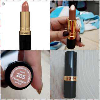 REVLON SUPER LUSTROUS LIPSTICK CHAMPAGNE ON ICE