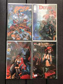 🚚 Image comics butchered knights, rip claw and defiance