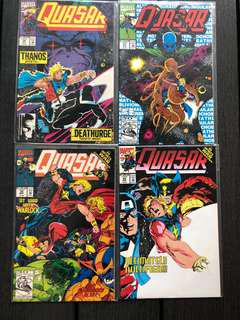 🚚 Marvel comics Quasar infinity war crossover