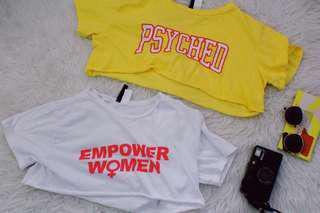 H&M Cropped Tops