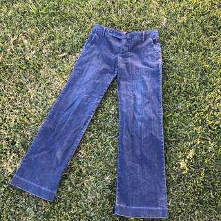 Levi's trouser jeans, amazing comfy cut, sz 12