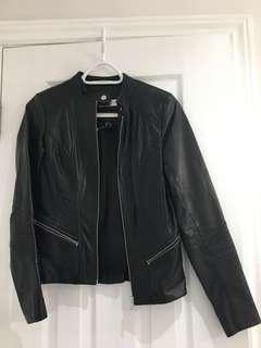 Danier Leather Jacket UK 4