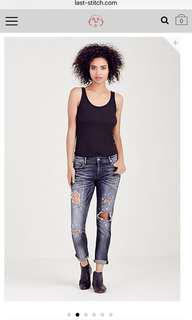 Low Rise Relaxed Skinny Jean