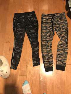 2 camo leggings from forever we