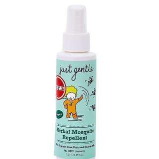 🚚 Herbal Mosquito repellent from Just Gentle Organic