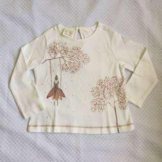 Zara baby long sleeves 12-18mos
