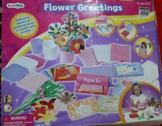 Flower Greetings for Kids