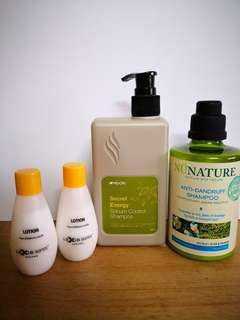 #mcsbeauty NEW Shampoo & Lotion