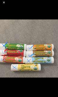 Sierra Bees organic Lip Balm