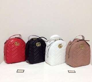 40d81bff9b6 Gucci Backpack lampskin laether Authentic Grade Quality