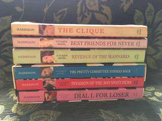 The Clique Series by Lisi Harrison [REPRICED]