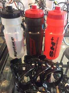 Polisport SH+ Water Bottle with Cage