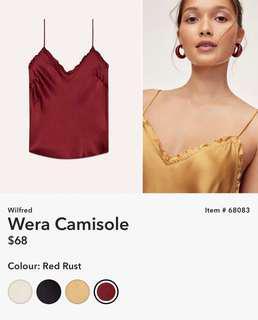 Aritzia Wilfred Wera camisole