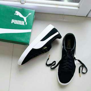 Puma Suede Ignite Black White