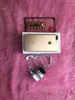 Iphone 7plus 128gb Gold ex internasional