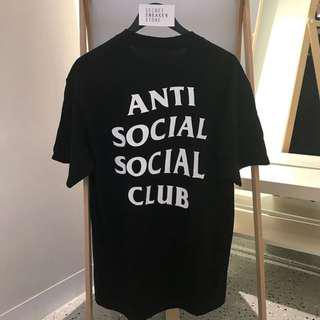 ASSC ANTI SOCIAL SOCIAL CLUB TEES