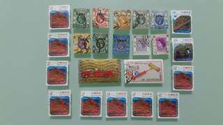 香港郵票全部共HKD$50.00