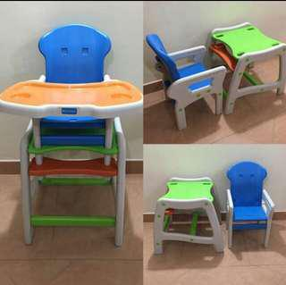 Lucky baby high chair 2 in 1