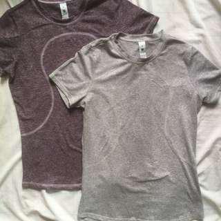 Lululemon dri fit shirt small