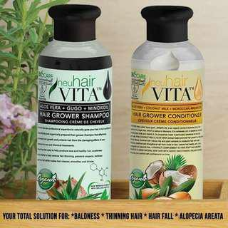 Neu Hair Vita Shampoo and Condioner