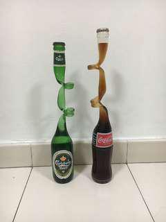 🚚 Vintage coke bottles
