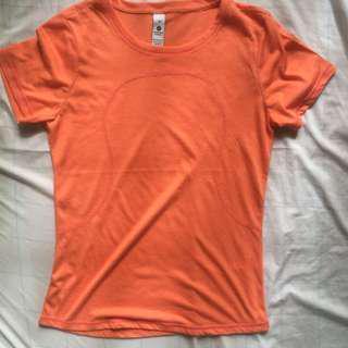 Lululemon dri fit shirt large