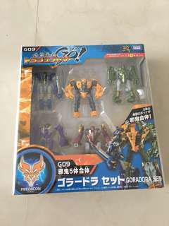 Transformers Go! G09 Goradora set