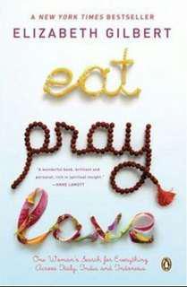Eat Pray Love, Elizabeth Gilbert