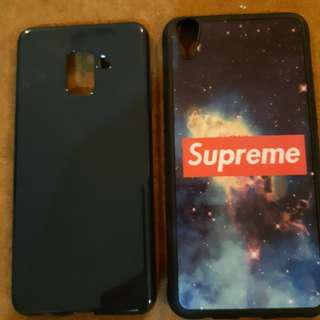 Used Oppo R9 Plus Samsung A8 Plus case mobile hp cover A8+ R9+